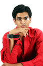 Indian Teenage Boy Royalty Free Stock Photography