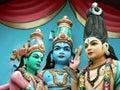 Indian Temple Facade Stock Photos