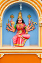 Indian temple statue series Royalty Free Stock Photo