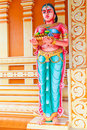 Indian temple statue series Royalty Free Stock Image