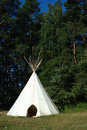 Indian tent for children Royalty Free Stock Photo