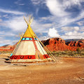 Indian Tent Royalty Free Stock Photo