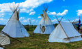 Indian Tepee Tent Royalty Free Stock Photo