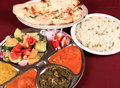 Indian thali combo Royalty Free Stock Images