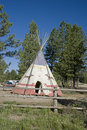 Indian tipi Stock Photography