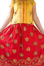Indian traditional dress Royalty Free Stock Photo