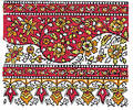 Indian Traditional Textile design Stock Images