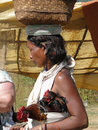 Indian tribal woman Royalty Free Stock Photos