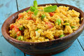 Indian Upma Stock Images