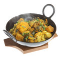 Indian Vegetable Curry Royalty Free Stock Images