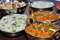 Indian Vegetarian meal Royalty Free Stock Photo