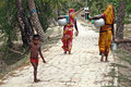 Indian Village life Royalty Free Stock Photos
