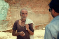 Indian villager man Stock Image