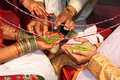 Indian Wedding Ritual Stock Photos