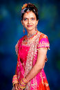 Indian woman in dress Stock Photos