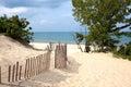 Indiana Sand Dunes Royalty Free Stock Photo