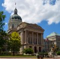 Indiana State House Royalty Free Stock Photo