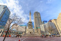 The Indiana State Soldiers and Sailors Monument Royalty Free Stock Photo