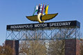 Indianapolis - Circa March 2016: Indianapolis Motor Speedway IV Royalty Free Stock Photo