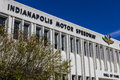 Indianapolis - Circa September 2016: Indianapolis Motor Speedway Hall of Fame Building VIII