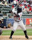 Indianapolis Indians second baseman Josh Harrison Royalty Free Stock Photo