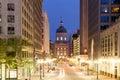 Indianapolis Morning Royalty Free Stock Photo