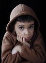 Indianin Little Boy Fotografia Royalty Free