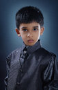 Indianin Little Boy Obraz Royalty Free