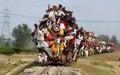 Indiańscy Sztachetowi pasażery.