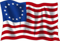 Indicateur de Betsy Ross Photo stock