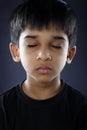 Indien little boy Photos libres de droits
