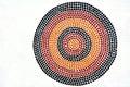 Indigenous Australian art Dot painting. Royalty Free Stock Photo