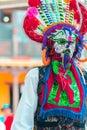 stock image of  Indigenous dancers of Ecuador