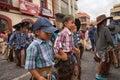 Indigenous quichua children in Ecuador