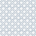 Indigo blue hand drawn seamless pattern vector Stock Images