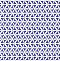 Indigo seamless flower of life pattern - sacred geometry background - most magical pattern on the world Royalty Free Stock Photo