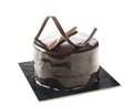 Individual chocolate cake Royalty Free Stock Photo