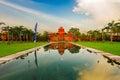 Indonesia bali benoa según el amanecer temprano el temple of dawn Fotos de archivo libres de regalías