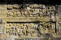 Indonesia, Central Java. The temple of Borobudur Royalty Free Stock Photography