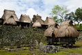 Indonesia, Flores, Bena village Royalty Free Stock Photography