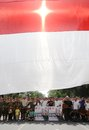 Indonesia heroes day Royalty Free Stock Photo