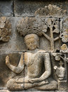 Indonesia, Java. Borobodur Royalty Free Stock Photos