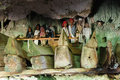 Indonesia, Sulawesi, Tana Toraja, Ancient tomb Stock Photography