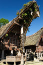 Indonesia, Tana Toraja, Traditional village Stock Photos