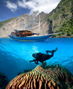 Indonesia, tropical paradise Stock Image