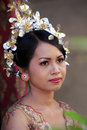 Indonesian bride Stock Photo