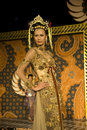 Indonesian Culture Fashion Show Royalty Free Stock Images
