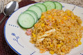 Indonesian fried rice Stock Image