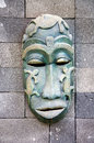 Indonesian mask Royalty Free Stock Photography