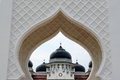 Indonesian muslim architecture, Banda Aceh Royalty Free Stock Photo